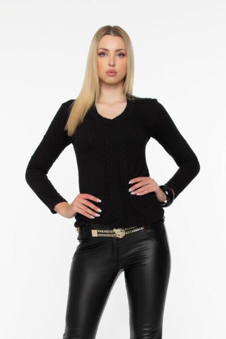Gréti pulóver - Fekete