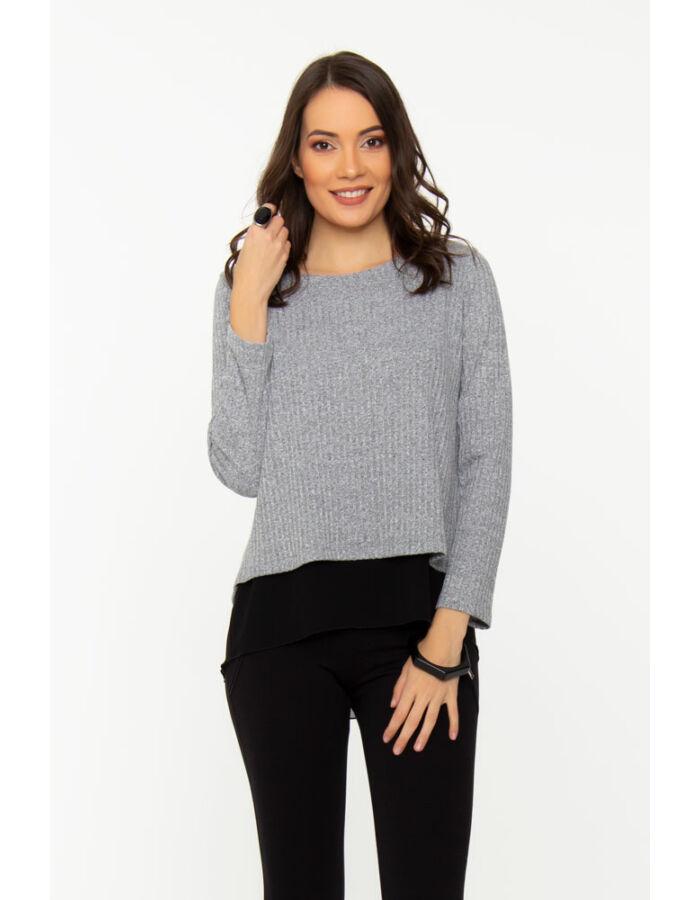 Letti masnis pulóver - szürke