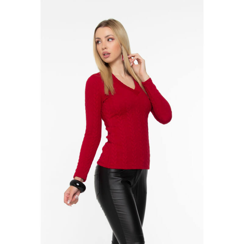 Gréti pulóver - Meggypiros