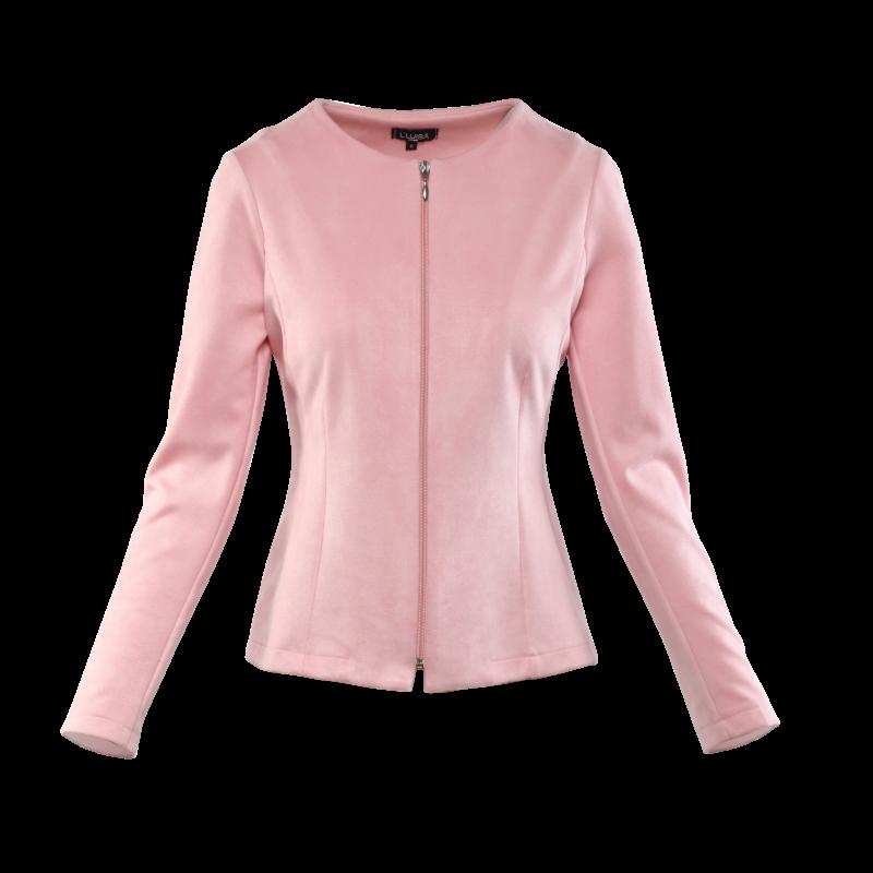 Cippes kabátka - rózsaszín