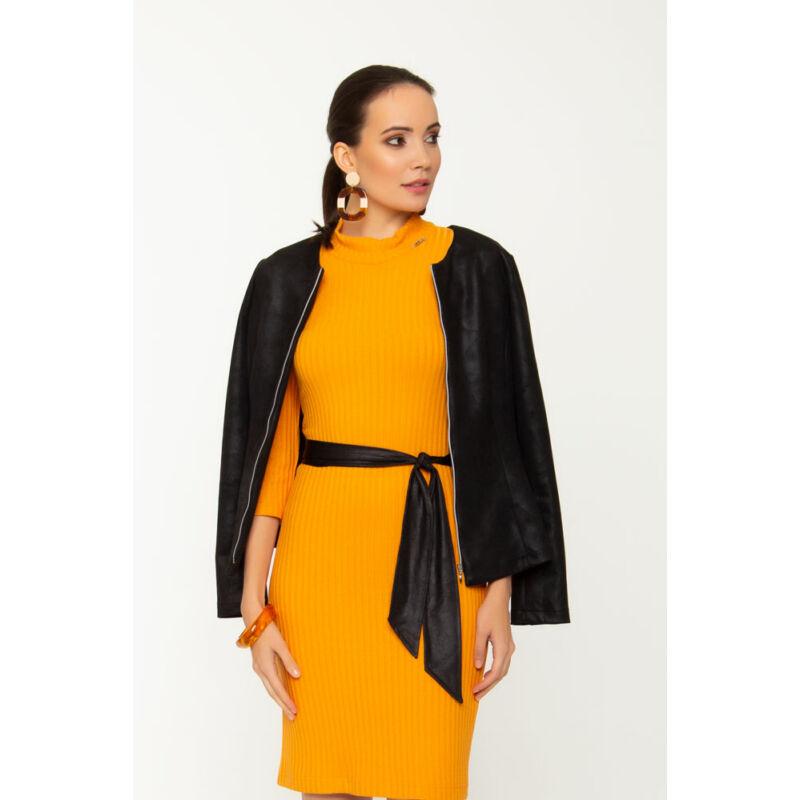Monic garbós ruha - Sárga