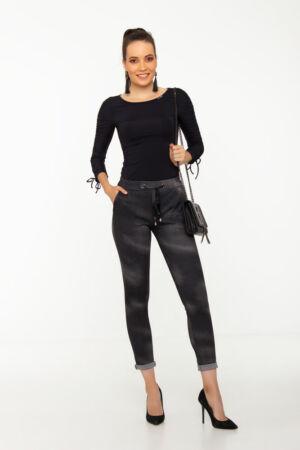 Linda nadrág - koptatott mintás