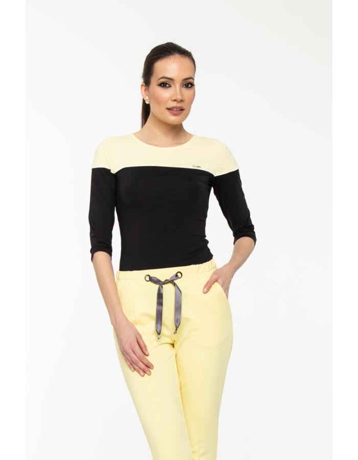 Bori póló - pasztell sárga