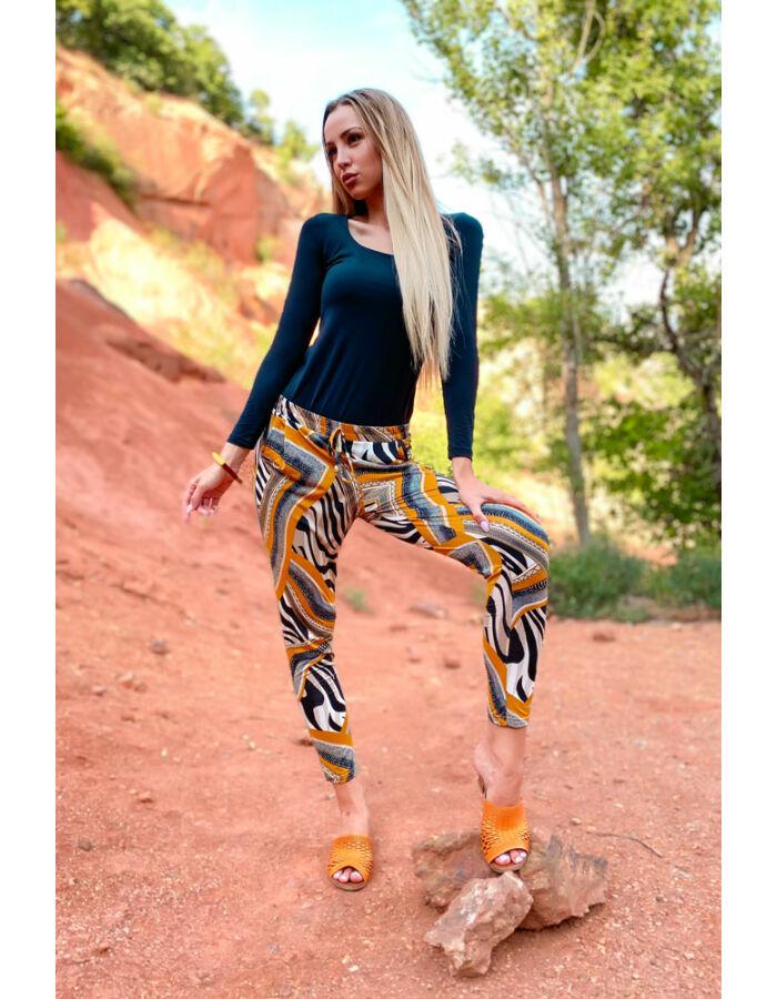Pandora nadrág - sárga szafari